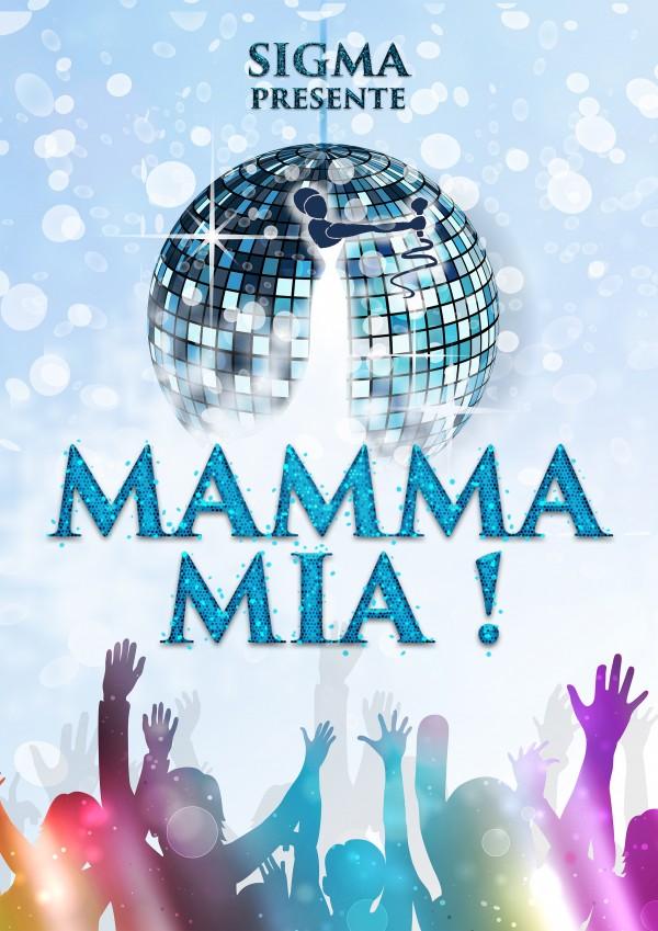 Mamma Mia - Affiche A4 PNG